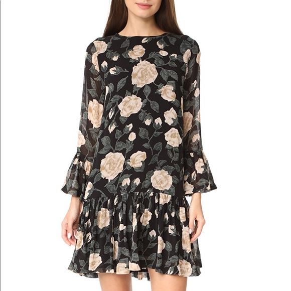 64dbd775 Ganni Dresses & Skirts - Ganni Carlton Georgette Dress